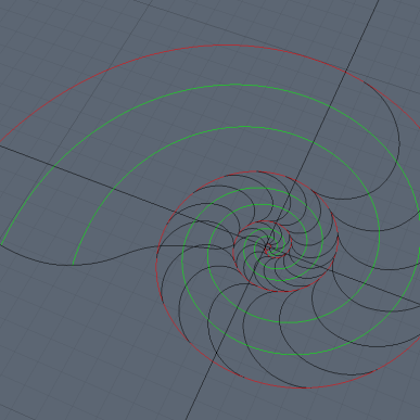 Bezier paths are imported from Illustrator to Modo. These are useful to create geometry using the Patch Tool and working by sections (approximately every 90-degree turns).