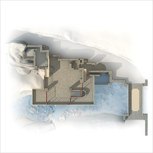 Main house plans - Entry and main floor