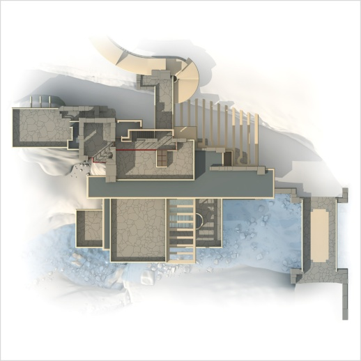 Main house plans - Third floor