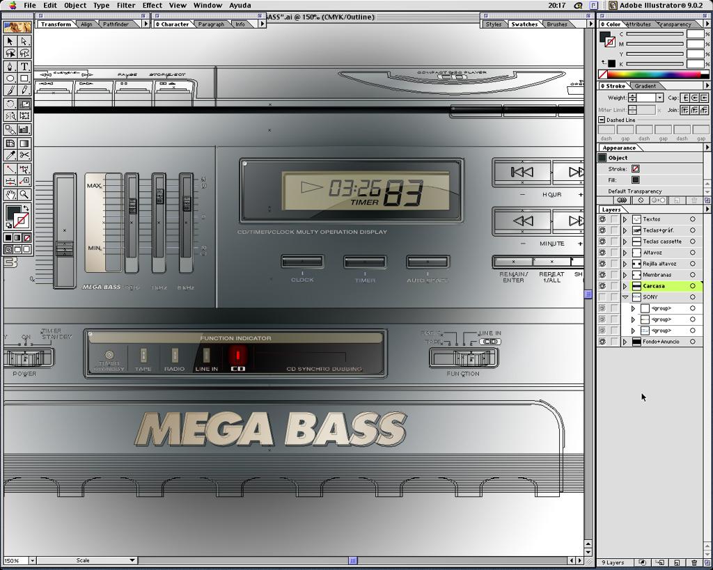 1995_o3d_megabass_process